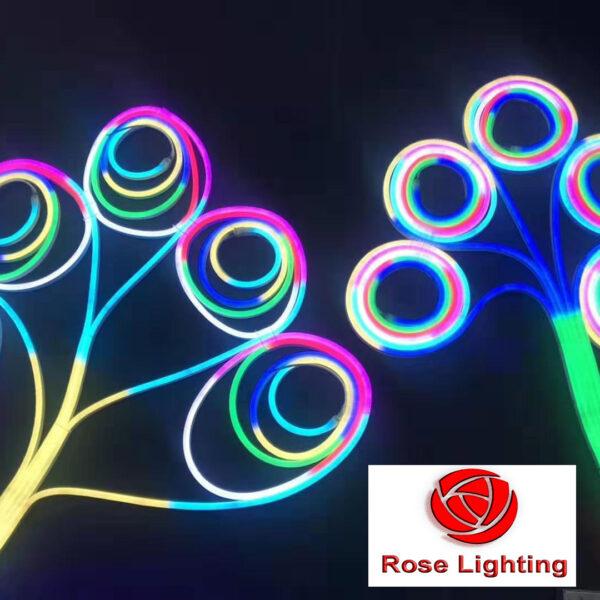 adddressable sinicone neon led flex