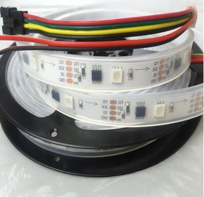 Addressable 12V Double Data GS8208 LED Strip 60leds | rose