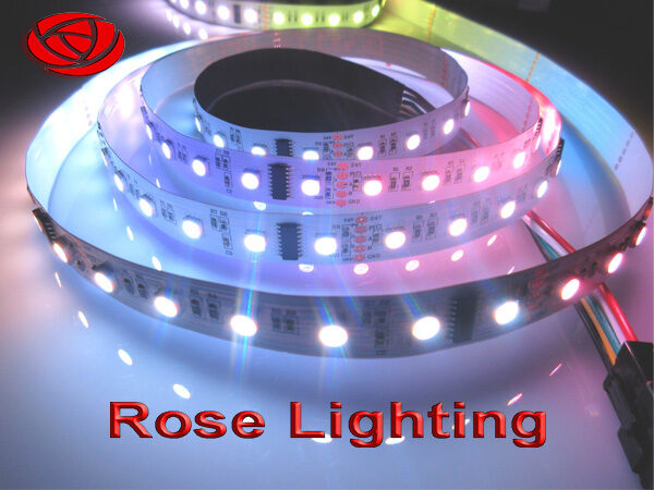 RGBW dmx flex pixel led strip