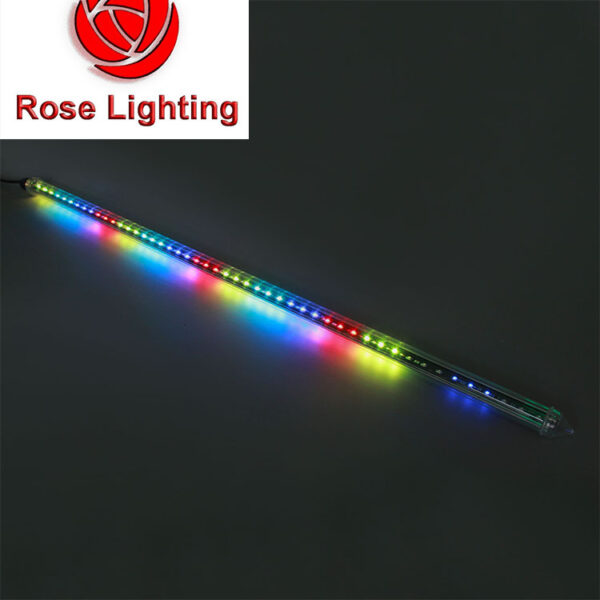 360 viewing dmx led tube