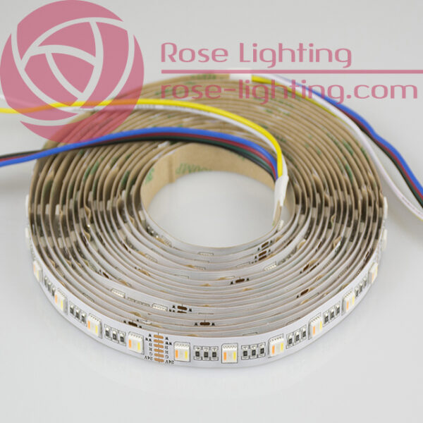 RGBWW 5 chip led strip
