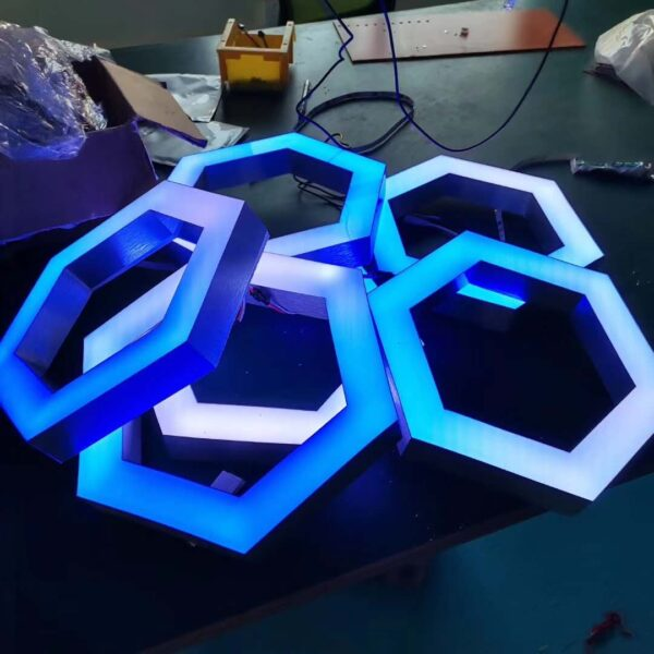 Hexagon Pixel led module