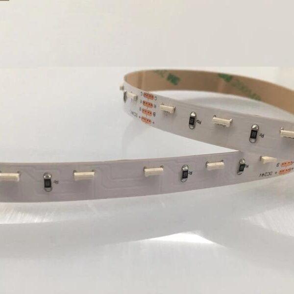 24V 020 rgb led strip side viewing