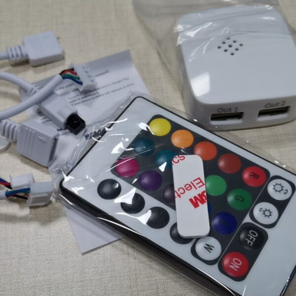 with remote