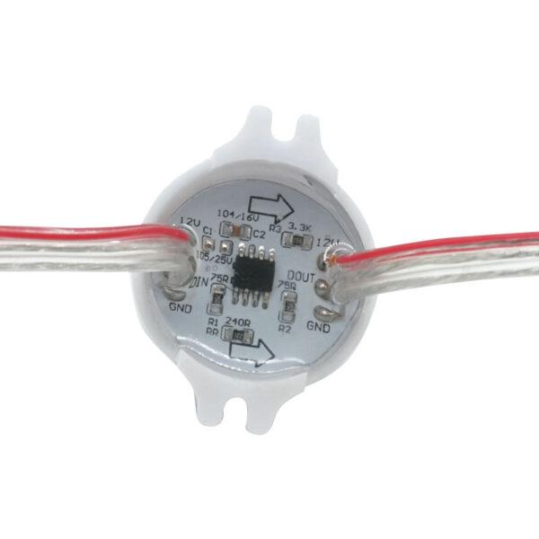 30mm Pixel led node string