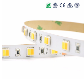5050 dual white led strip