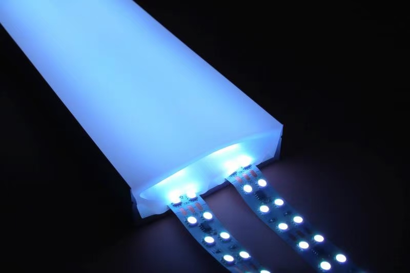 large silicone neon led tube with size 100mm width and