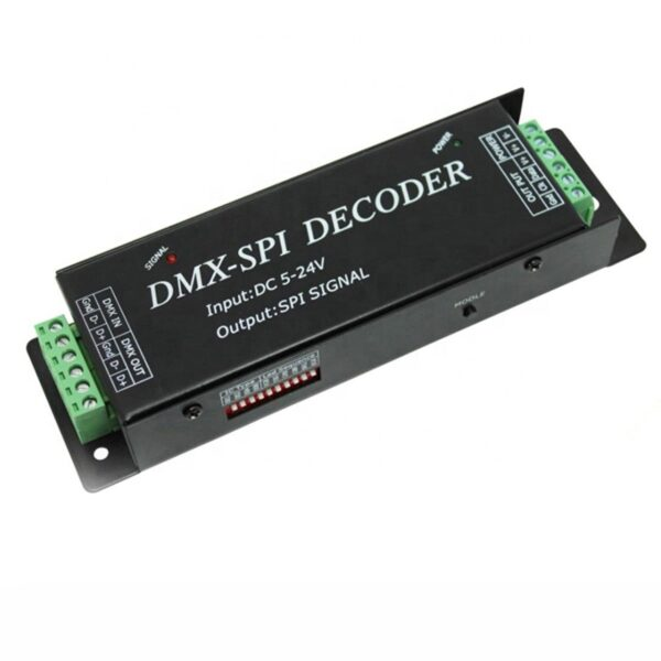SPI dmx led decoder